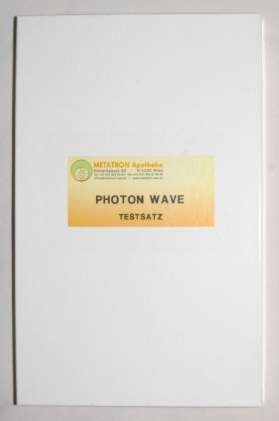 Testsatz Photon Wave
