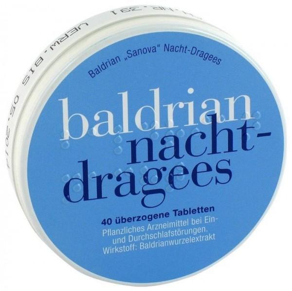 Baldrian Nachtruhe