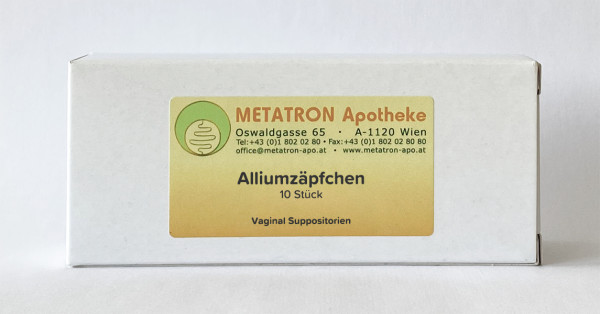 Allium Suppositorien