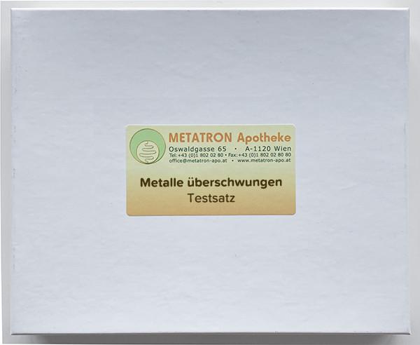 Testsatz Metall Überschwungen