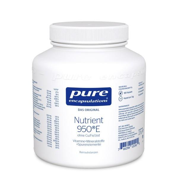 Nutrient 950e Ohne