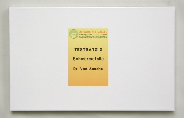 Testsatz Schwermetalle