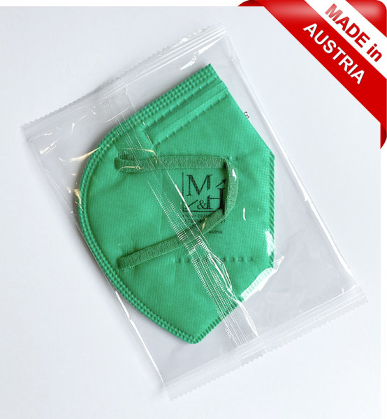 FFP2 Maske grün