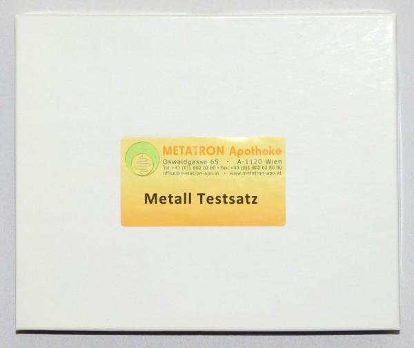 Testsatz Metall