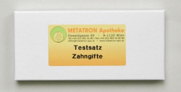 Testsatz Zahngifte