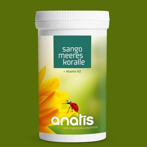 Sangokoralle + Vitamin K2