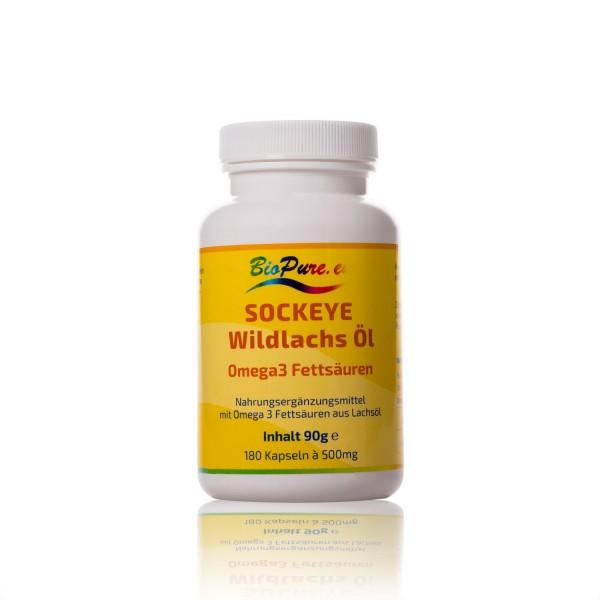 Omega-3 Sockeye Lachsöl